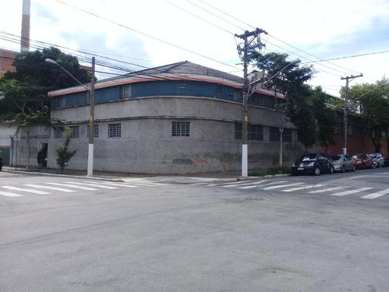 Galpão Para Alugar, 1800 M² Por R$ 30.000,00/mês - Mooca - São Paulo/sp - Ga0201