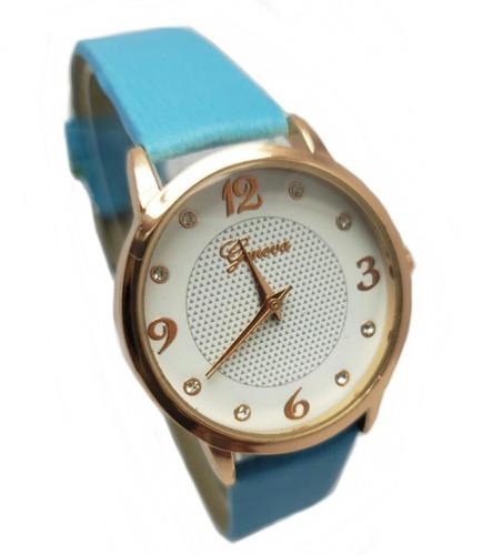 38f56078027a Reloj Mujer Con Strass - Relojes Geneva Mujeres en Mercado Libre ...