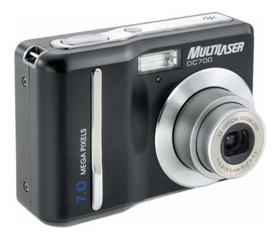 Câmera Digital Dc 700 7mp Multilaser
