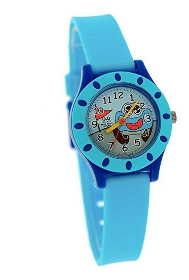 Relógio Q&q Infantil Masculino Carro Prova D