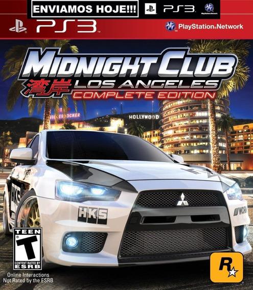 Midnight Club Los Angeles Ps3 Psn Jogos Original