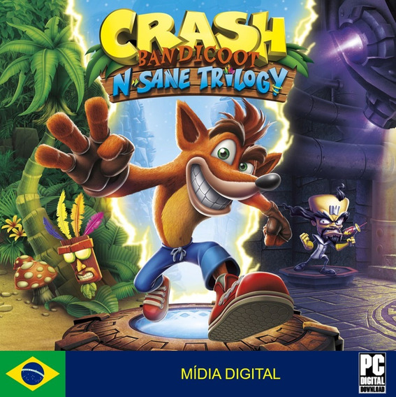 Crash Bandicoot N. Sane Trilogy Pc Original Envio Imediato!