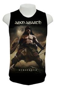 Camiseta Amon Amarth - Berserker - Ml01 - Regata