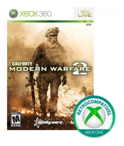 Call Of Duty Modern Warfare 2 Xbox 360 Semi Novo