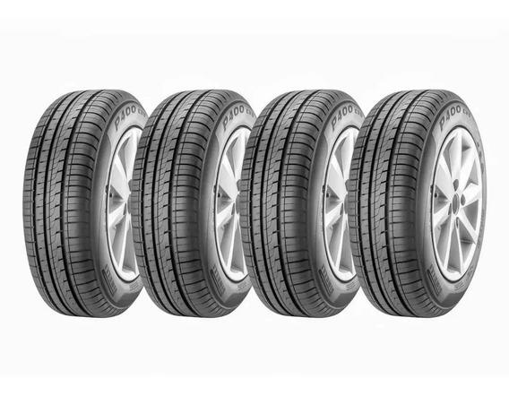 4 Pneus 175/70 R13 Pirelli P400 Evo Kit Mv.