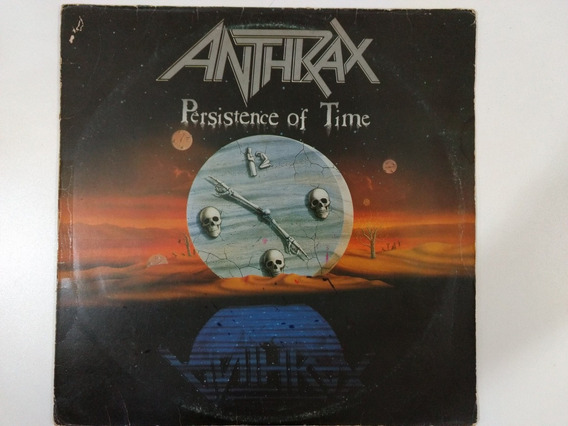 Anthrax Persistence Of Time Lp
