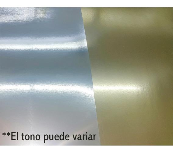 10 Cartulina Metalizada Espejo 270g. 47x69.5 Cm, Oro O Plata