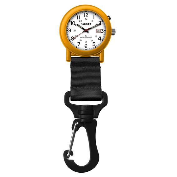 Dakota Clip Watch Light Up Backpacker De Watch Company Blac