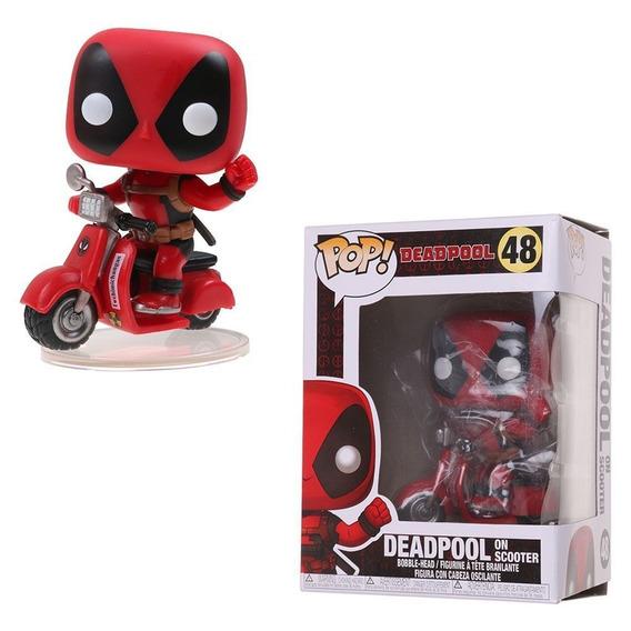 Figura De Ação Funko Deadpool Com Scooter #48