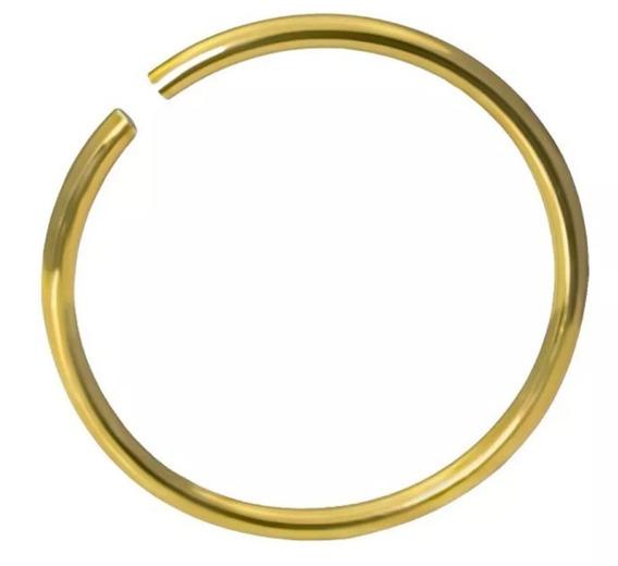 Piercing De Nariz Em Ouro Amarelo 18 K / 750 Frete Gráts