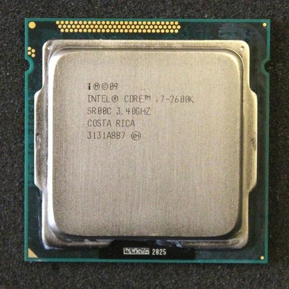 Processador Intel I7 2600, 3.4ghz, 8mb Cache, Lga 1155