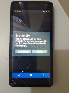 Smartphone Nokia Microsoft Lumia 535 - Precisa Trocar Touch