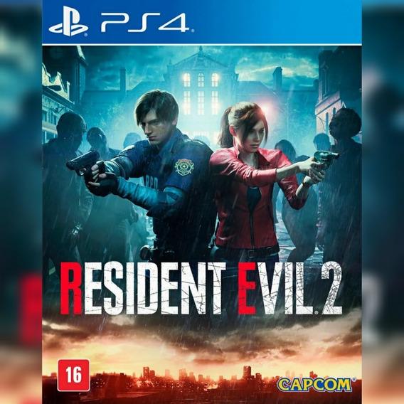 Resident Evil 2 - Resident Evil 2 Remake Ps4- Envio Imediato