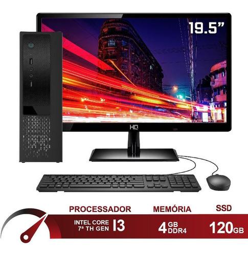 Pc Cpu Completo Intel I3 7100 4gb Ssd 120gb Skill Speedup