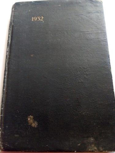 Imagen 1 de 7 de Agenda Médica Antigua 1932