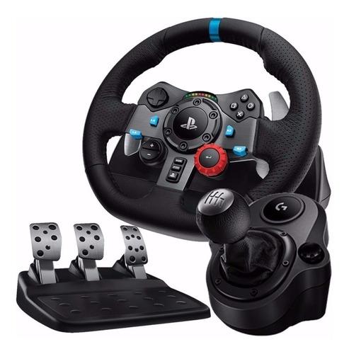 Logitech G29  Driving Ps4 Ps3 Pc Volante + Pedales + Palanca