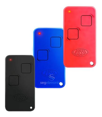 Imagem 1 de 7 de 3 Controle Remoto Portão Rossi Ntx 433 Nano Atto Dz3 Dz4