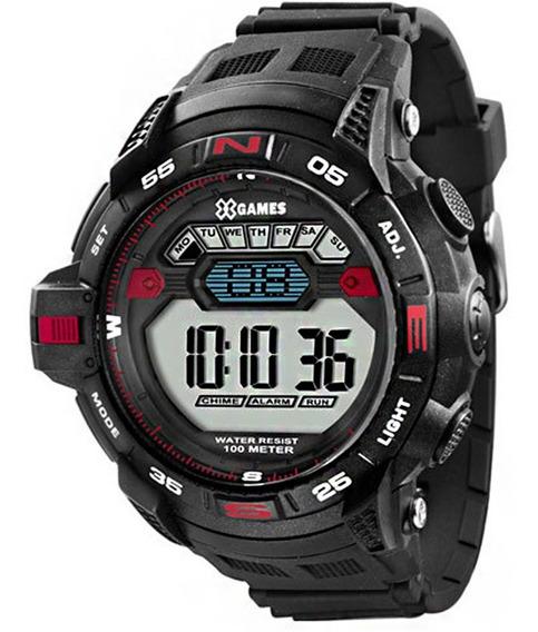 Relógio X-games Digital Masculino Xmppd259 Sport Preto