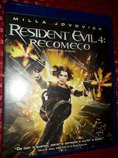 Blu-ray - Resident Evil 4 - Recomeço (2129 )