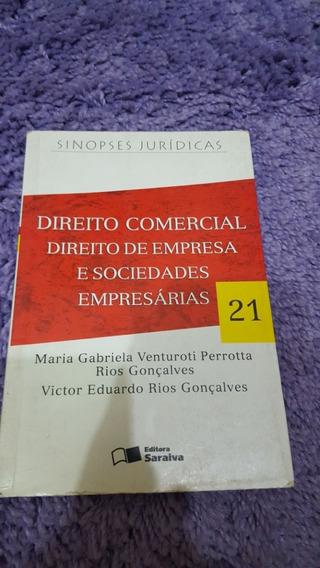 Direito Comercial, Direito De Empresa E Socie. Empresárias