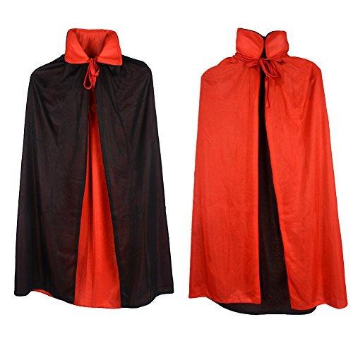Disfraz Para Niños Gardeningwill Capa De Vampiro 35