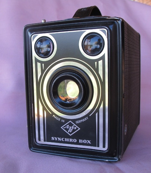 Camera Aleman 6x9 Agfa Box 1950 Impecavel Funciona Revisado