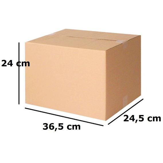 Caixa Papelão Correios Transportadora 24x36,5x24,5 C/100unid