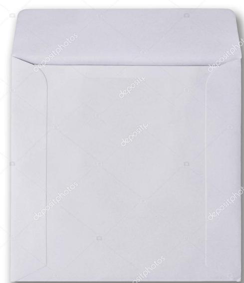Sobres Para Cd X10u 12.5x12.5cm Blanco 60grs E7023