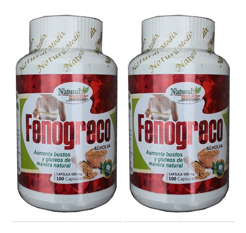 Fenogreco Natural Promocion 2 Moldea Figura Senos Gluteos