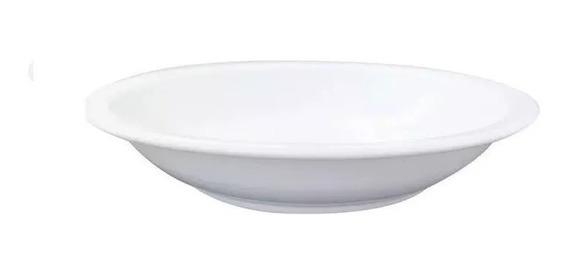 Plato Hondo 21 Cm Gastronomico Porcelana Tsuji 450 X 12 Uni