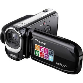 Camera Filmadora Mirage Full Hd Player Dc115 Preta