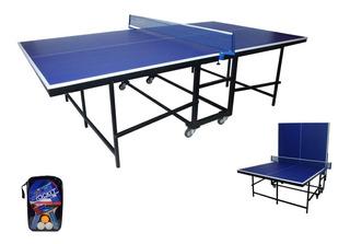 Mesa De Ping Pong Tenis Nueva Plegable Modelo Americano 15mm