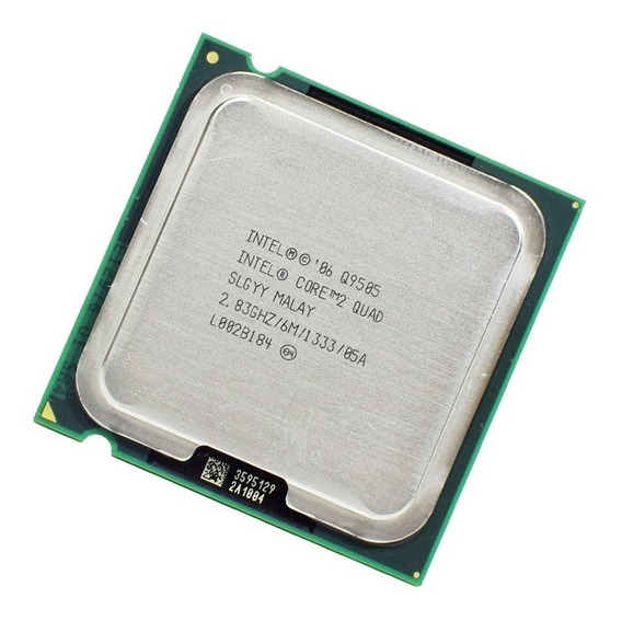 Processador Intel 2 Quad Q9505 + Pasta