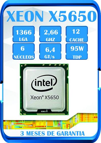 Processador Intel Xeon X5650 Hexa Core 2.66 Temos I7 Xeon ¨