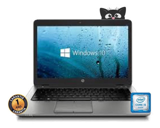 Notebook Hp Core I5 ( 128gb Ssd + 8gb Ram ) W10 Outlet Cuota