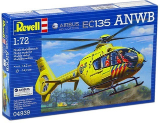 Airbus Helicopter Ec135 Anwb - Escala 1/72 Revell 04939