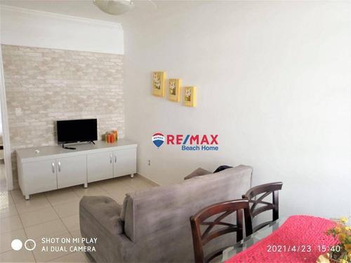 Imagem 1 de 12 de Apartamento Com 2 Dormitórios À Venda, 63 M² Por R$ 320.000,00 - Astúrias - Guarujá/sp - Ap3092