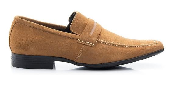 Sapato Social Em Couro Legítimo Sola De Borracha B462