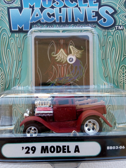 Muscle Machines 2004 29 Ford Model A (caballito)