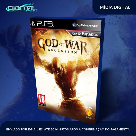 God Of War Iv Ascension Ps3 Game Digital Envio Já.