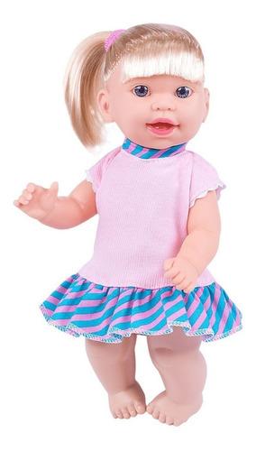 Imagem 1 de 2 de Super Toys Boneca Jenny 31cm Loira Fala E Ensina Inglês