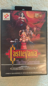 Castlevania The New Generation - Mega Drive