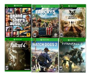Juegos Xbox One Totalmente Originales