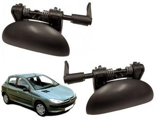 Maçaneta Externa Porta Traseira Peugeot 206 207 Esq E Dir
