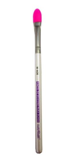 Pincel De Silicone Para Olhos Profissional - Macrilan W-608