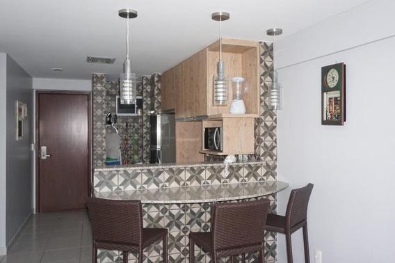 Apartamento Com 2 Dormitórios Para Alugar, 56 M² - Meireles - Fortaleza/ce - Ap0554