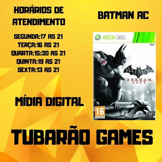 Batman Arkham City Mídia Digital Xbox 360