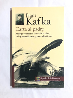 Libro Carta Al Padre / Franz Kafka