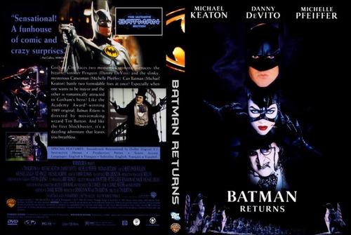 Imagen 1 de 2 de Batman Vuelve Dvd 1° Edicion Usa Original Caja Cartón Gusx
