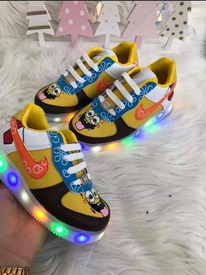 Tenis Led Tipo Airforce